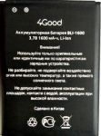 4Good S450M 4G (BLI-1600) 1600mAh Li-ion, оригинал