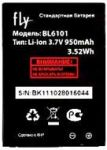 Fly E210 (BL6101) 950mAh Li-ion, оригинал